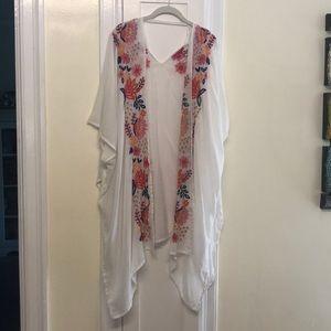 Betsy Johnson Kimono/ Cover up